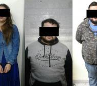 Detuvieron a una banda de gitanos acusada de cometer secuestros virtuales. Foto: 0223