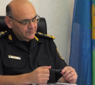 El jefe policial de Bahía Blanca afirmó que no buscó criticar a la Justicia. Foto: Prensa