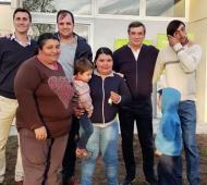 Javier Reyonoso destacó la entrega de los inmuebles a vecinos. Foto: Prensa