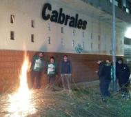 """Trabajadores de la empresa Cabrales denunciaron """"suspensiones arbitrarias"""". Foto: Prensa"""