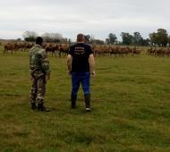 Allanaron una quinta de caza clandestina en Ranchos. Foto: Prensa