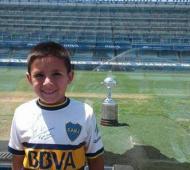 Thiago, el niño que recibió la donación.