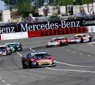 Santero se quedó con el triunfo en una accidentada carrera en San Luís. Foto: ACTC