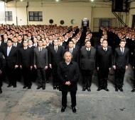 """Granados destacó la """"gran convocatoria"""" para las Policías Comunales."""