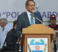 Scioli estuvo en Santiago del Estero.   Foto: La Nación.