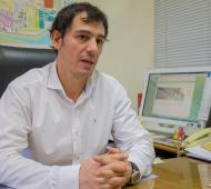 Ariel Díaz, el secretario de Economía, detalló el Presupuesto 2019.
