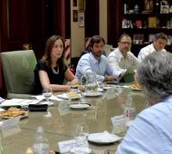 Vidal retomó la actividad tras unas vacaciones en la Costa. Foto: Prensa