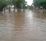 El barrio más afectado fue el Jorge Newbery. Foto: Prensa