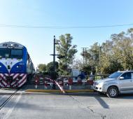 El hecho ocurrió a unos 200 metros de la estación Manuel Alberti. Foto: Prensa