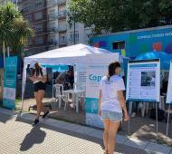 El Ministerio de Trabajo bonaerense instaló puntos de atención en la Costa Atlántica