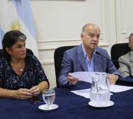 """Apertura de sesiones en Lanús: """"La grieta no es buena para nadie, es una herida cada vez más profunda"""", dijo Grindetti"""