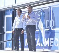 Finocchiaro inauguró curso de formación profesional en Gonzáles Catán. Foto: Prensa