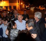 Marcelo Castronovo, al momento de conocer su victoria. Foto: Noticias Net.