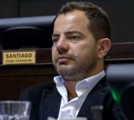 Bonelli presentó el proyecto que beneficia a los clubes de barrio este lunes en la Legislatura bonaerense. Foto: Prensa