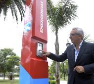 Tigre: Julio Zamora presentó nuevos Tótems de Seguridad Inteligente para espacios públicos