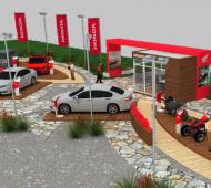 LAs automotrices también eligieron las ciudades de la Costa para hacer lanzamientos. Foto: Prensa