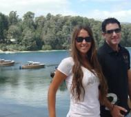 Damián Stefanini junto a su mujer, Antonella Ognio.