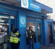 El operativo contó con el apoyo de Lotería bonaerense. Foto: Télam