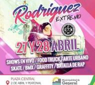 Festival de Deportes Extremos en General Rodríguez.