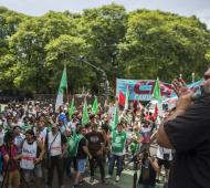 Roberto Baradel de Suteba, adelantó que no aceptarán un incremento del 18%.