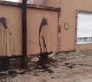 Ataque a la vivienda de un precandidato a intendente de Baradero. Foto: Prensa