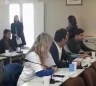 La sesión del Concejo Deliberante de San Vicente.