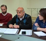 Rubén Allende explicó los argumentos del rechazo a la oferta del Municipio. Foto: La Nueva Radio Suárez.