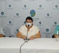 Este martes el municipio brindó una conferencia de prensa