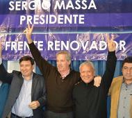 Geneiro estuvo junto al dueto massista que irá por la provincia.