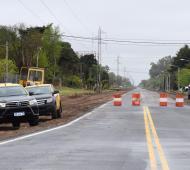 9 de Julio: Inauguran pavimentación del acceso desde la Ruta 65
