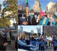 Olivos,Mar del Plata y la plaza Moreno de La Plata, algunas de las manifestaciones