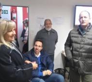 Insaurralde piensa en Viñuales como su posible sucesor. Foto: Diario La Unión