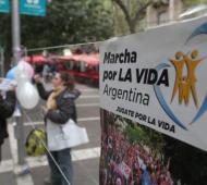 Este domingo habrá marchas contra el aborto en todo el país