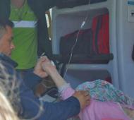 Se trata de una mujer mayor de 84 años que se encuentra internada en el Hospital Italiano. Foto: La Brújula24