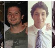 Murieron cuatro jóvenes, dos de ellos rugbiers, en un choque en la Ruta Nacional 188