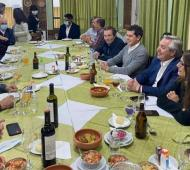 Gustavo Béliz cenó con Fernández, Evo Morales y funcionarios en Jujuy