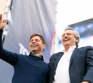 Axel Kicillof no se pierde la fiesta y asume después de Alberto Fernández y Cristina Kirchner