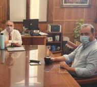 Luis Basterra y Jorge Solmi, integrante del Frente Renovador, ocupará el cargo de Secretario de Agricultura