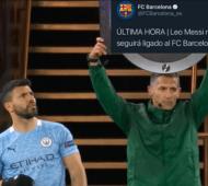 Messi se fue de Barcelona: Las redes se inundan de memes