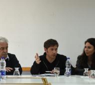 Corvatta, Kicillof y Merquel. Foto: @MarisolMerquel