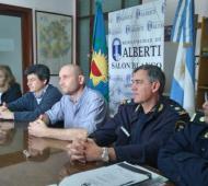 Alberti no enviará policías comunales al Operativo Sol 2018.