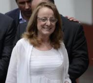 La gobernadora santacruceña participó de la reunión convocada por el presidente Macri.
