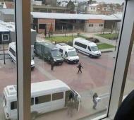 Los empleados municipales denunciaron que estuvieron incomunicados por horas. Foto: www.politicargentina.com