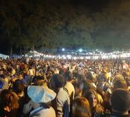 Roque Pérez convocó a 30 mil personas