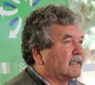 Mario Almirón, secretario general de la Uocra regional San Nicolás