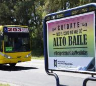 Los afiches fueron pegados en la via pública
