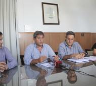 El Intendente de Lobería Juan José Fioramontianunció un aumento salarial.