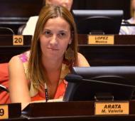 Arata fue una de las que más criticó al oficialismo.