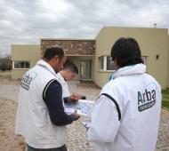 Arba realizó el operativo en cuatro countries del partido.