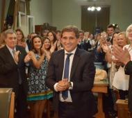 Lobería: Juan José Fioramonti juró por un nuevo mandato